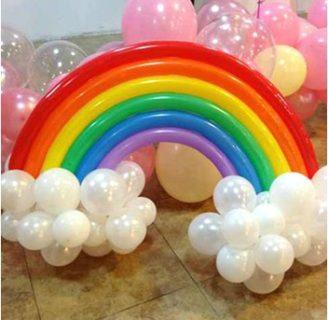 Como adornar con globos largos en ideas sencillas!!