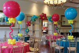 como adornar un cumpleaños con globos