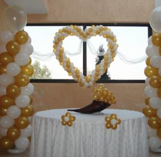 Como adornar una boda con globos: ¡Te lo contamos todo!