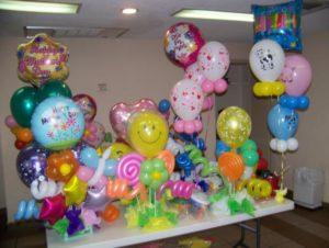 como armar globos para cumpleaños