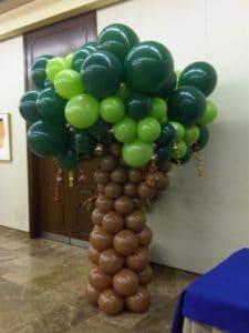 Como arreglar un salon con globos