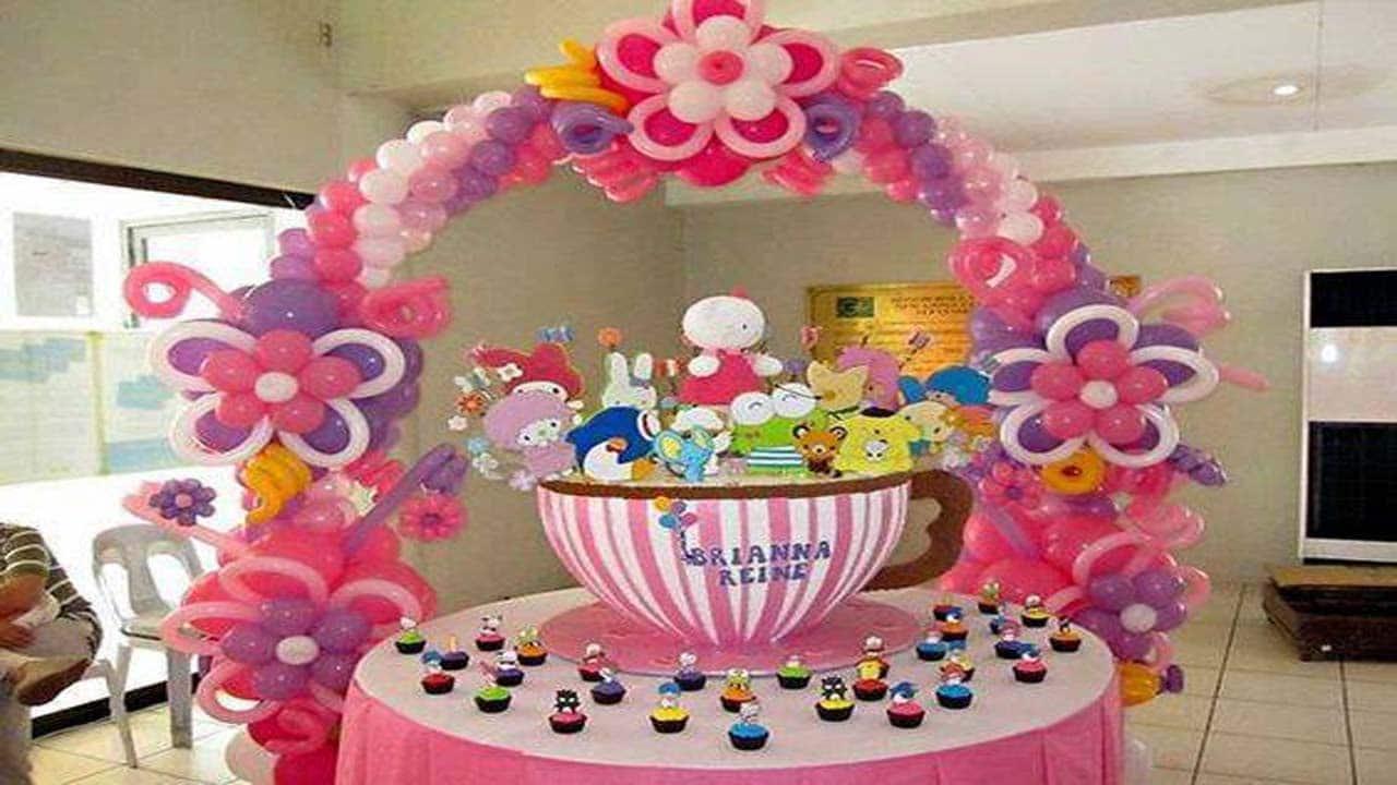 Como decorar con globos paso a paso tu misma - Decorar cumpleanos infantil ...