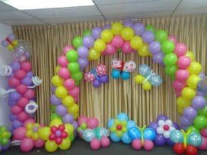 Como decorar con globos un cumplea os infantil - Como decorar un cumpleanos ...