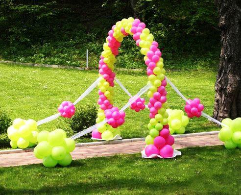 Todo sobre como decorar con globos Ornamentacion con globos