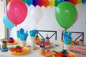 como decorar un cumpleaños con globos