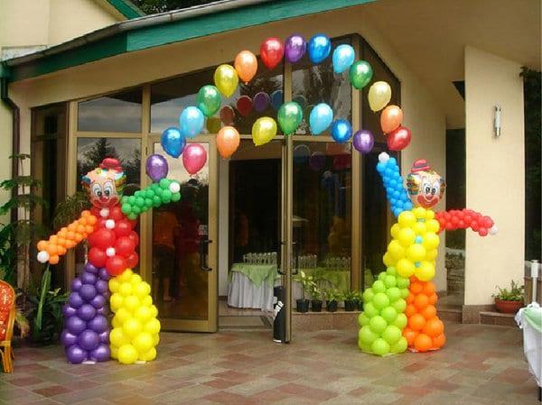 Como hacer adornos con globos para cumplea os divertidos - Hacer decoraciones con globos ...