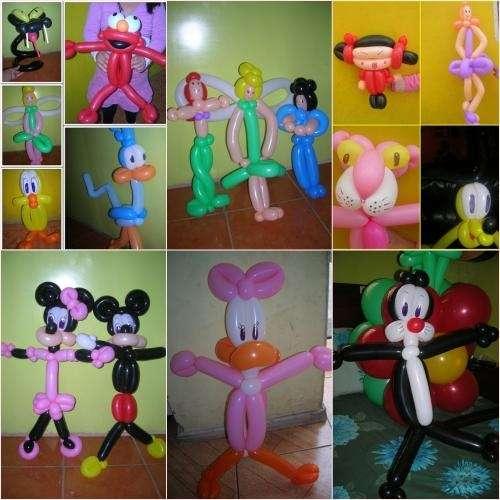 Como hacer adornos con globos para fiestas infantiles for Como hacer decoracion con globos