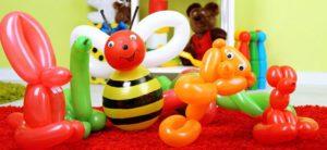 como hacer adornos con globos para fiestas infantiles