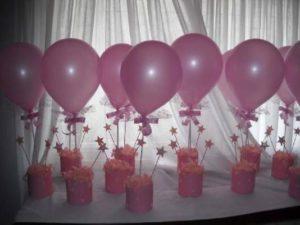 como hacer adornos de globos