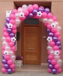 como hacer arcos de globos para fiestas