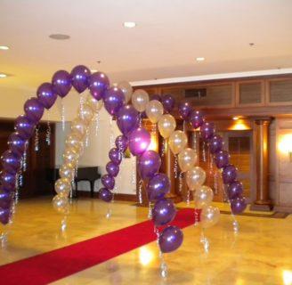 Como hacer arcos de globos para fiestas divertidas