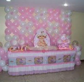 Como hacer arreglos con globos para baby shower originales y hermosos