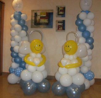 Como hacer arreglos con globos para bautizo: ¡Estas ideas son geniales!