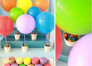 como hacer arreglos con globos
