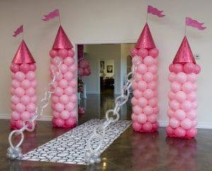 Como hacer arreglos de globos para cumpleaños