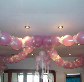 Como hacer cadenas de globos, para toda ocasión