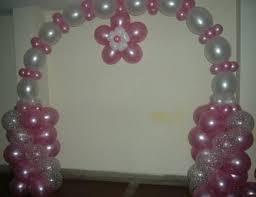 como hacer cadenas de globos