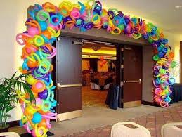 como hacer decoraciones con globos