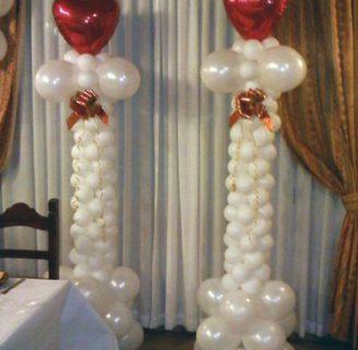 Como hacer pilares de globos para toda ocasión