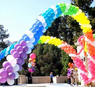 Como hacer un arreglo con globos para toda ocasión