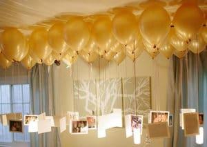como ornamentar con globos