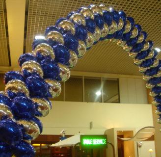 Como hacer arreglos con globos para fiestas facilmente