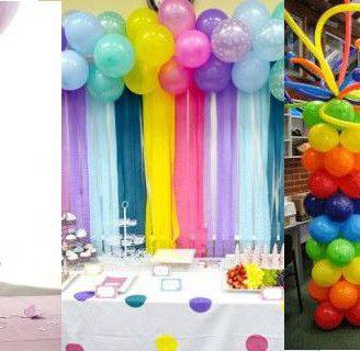 Como hacer adornos con globos para cualquier ocasión