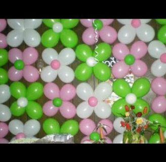 Como hacer decoraciones con globos para 15 años. ¡No te lo pierdas!