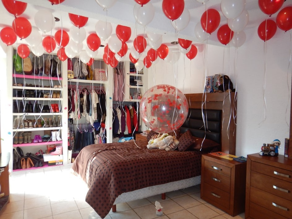 Como decorar el techo con globos con ideas originales - Globos para decorar ...