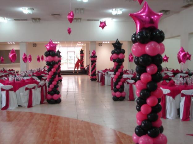 Como hacer bases para columnas de globos para tus decoraciones for Decoracion con globos para xv anos