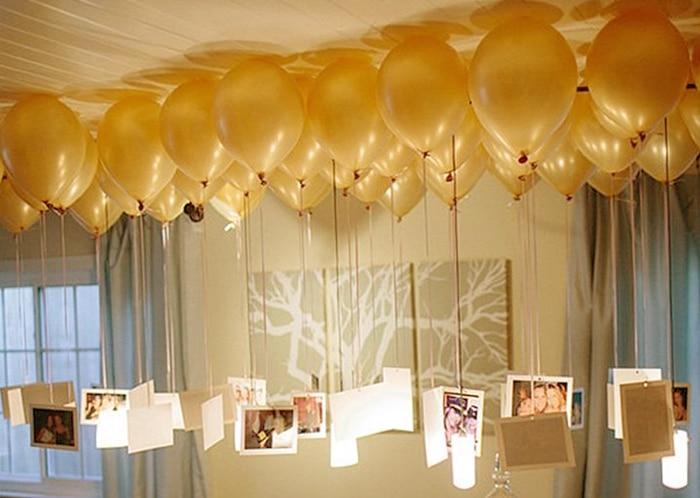 Como decorar el techo con globos con ideas originales - Gas helio para globos precio ...