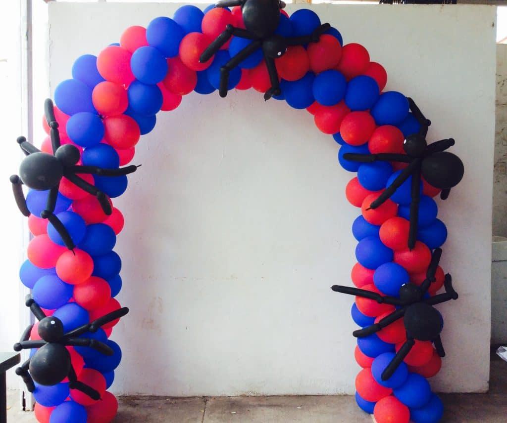 Como adornar con globos paso a paso para hacer incre bles - Como decorar las paredes del salon ...