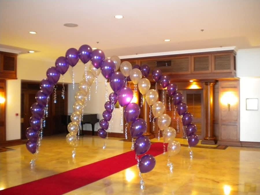 Como hacer arcos con globos hermosos y f cilmente - Como conseguir globos de helio ...