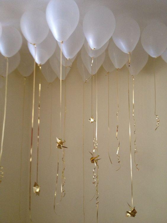 Como hacer adornos con globos para bautizo hermos simos - Como hacer una mesa baja de salon ...