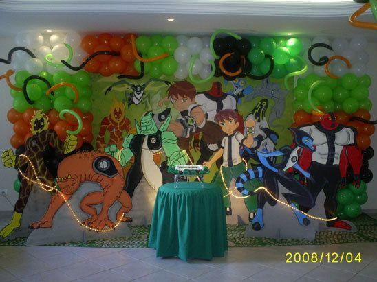 Como hacer columnas de globos para fiestas infantiles for Decoracion cumples infantiles