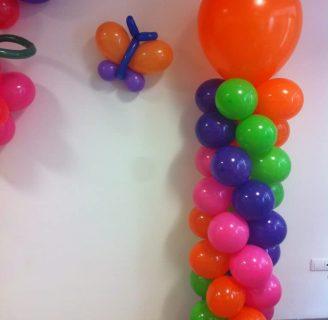 Lo último en decoraciones con globos para fiestas infantiles de niños y niñas, muy fáciles de hacer