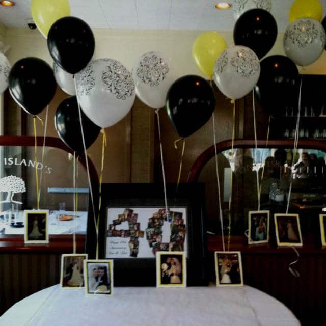 Como decorar el techo con globos con ideas originales - Decoracion para aniversario ...