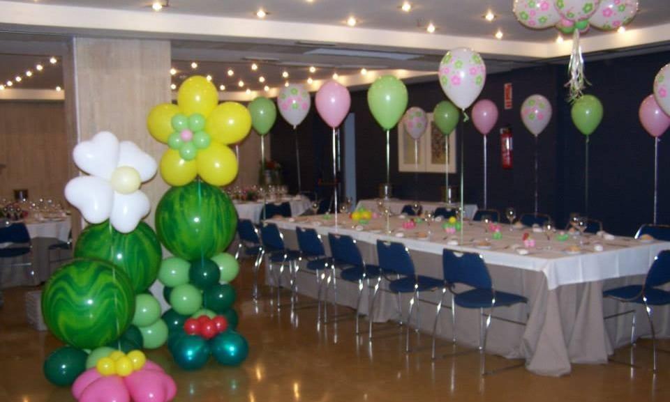 Como hacer adornos con globos para cumpleaños