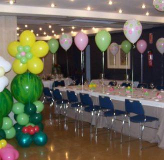 Como hacer decoraciones con globos para bautizos, cumpleaños, xv años, bodas, comunion, y mas
