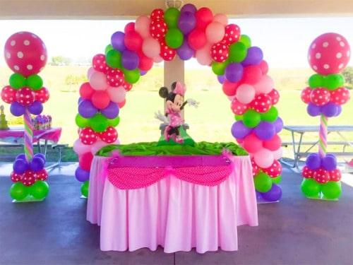 Como hacer adornos con globos para cumpleaos