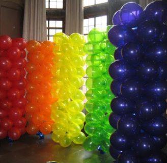 Como hacer bases desechables o de metal para arcos y arreglos con globos