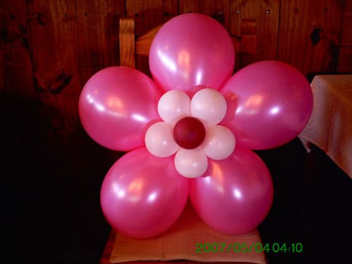 Como Hacer Flores Con Globos Paso A Paso Facilmente - Como-hacer-flores-de-globos