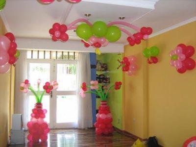 Como decorar el techo con globos con ideas originales - Como conseguir globos de helio ...