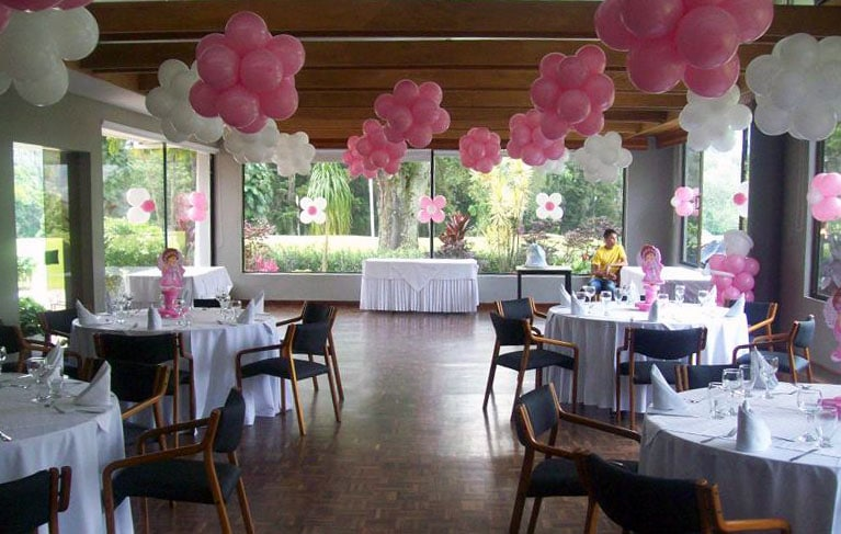 Como decorar el techo con globos con ideas originales - Decoraciones para techos ...